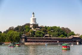 Beihai park, beijing, winter palace
