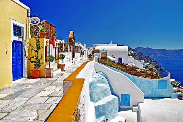 beautiful places to visit, greece, santorini island