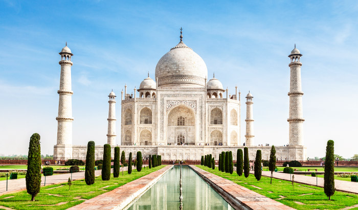 beautiful places to visit, India, Taj Mahal